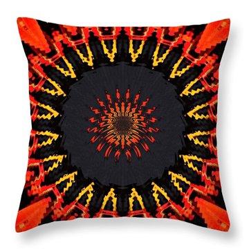 Kaleidoscope Aztec Throw Pillow