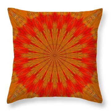 Kaleidoscope Brights Throw Pillow