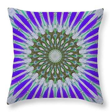 Kaleidoscope Celtic Throw Pillow