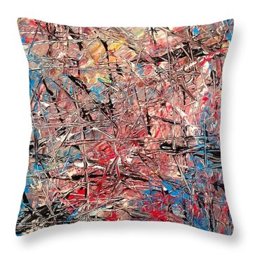 Kaleidoscope No. 1 Throw Pillow