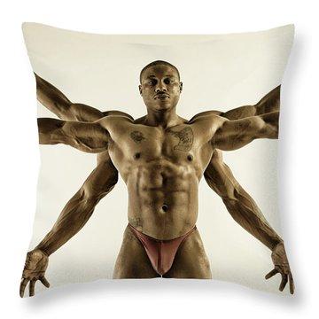 Kali Throw Pillow by Thomas Mitchell