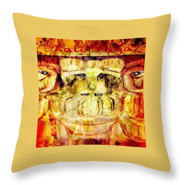 Kali Yuga Throw Pillow