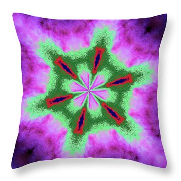 Kalida 33 Throw Pillow