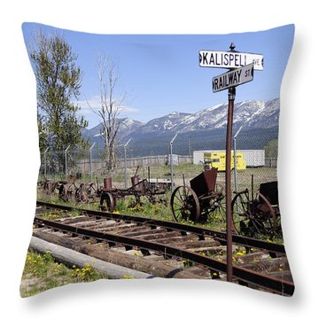 Kalispell Crossing Throw Pillow
