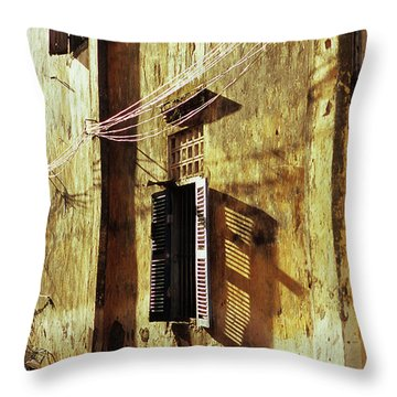 Kampot Lane Throw Pillow by Rick Piper Photography