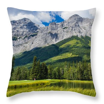 Kananaskis Throw Pillow