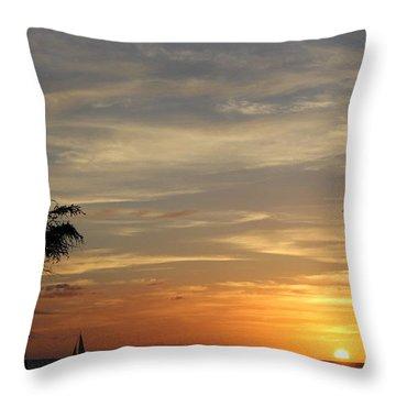 Kanapali Sunset Throw Pillow