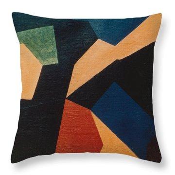 Kandinsky Homage 1972 Throw Pillow