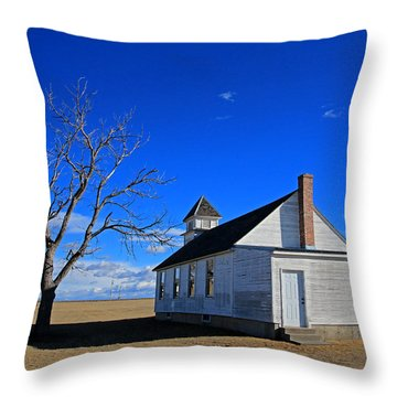 Escue Church Throw Pillow