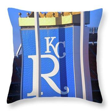 Kansas City Royals, Baseball Stadium Throw Pillow
