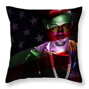 Kanye West Throw Pillow