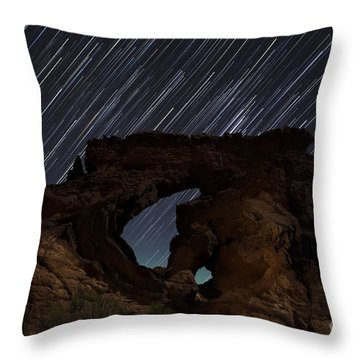 Kapple Arch  Throw Pillow