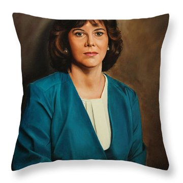 Karen Throw Pillow