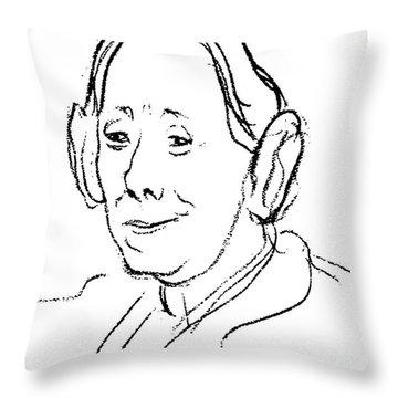 Karen Horney (1885-1952) Throw Pillow