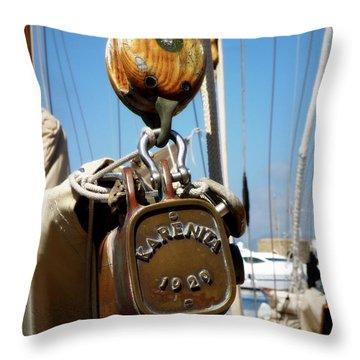 Karenita 1929 Throw Pillow by Lainie Wrightson