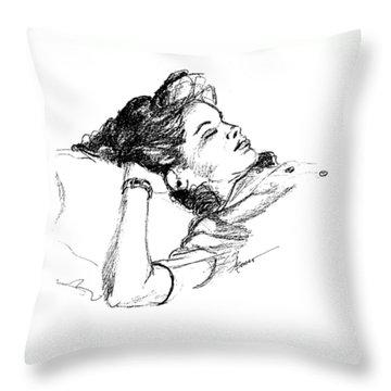Karen's Nap Throw Pillow