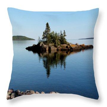 Karin Island - Photography Throw Pillow