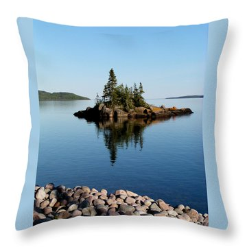 Karin Island - Photography Throw Pillow