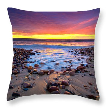 Colors Throw Pillows