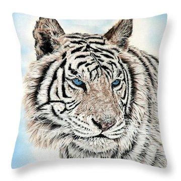 Kashmire Throw Pillow by Linda Becker