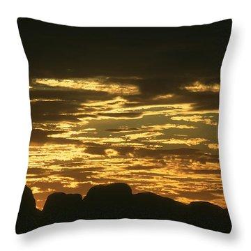 Throw Pillow featuring the photograph Kata Tjuta Australia 3 by Rudi Prott