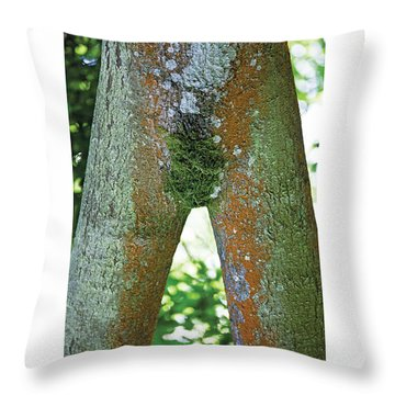 Kate's Moss Naturally Beautiful Poster Throw Pillow