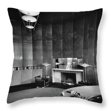Katharine Brush's Study Throw Pillow