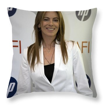 Kathryn Bigelow Throw Pillow