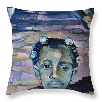 Katrina 1 Year Later Throw Pillow