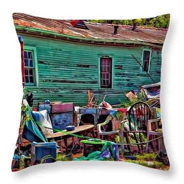 Katrina Memory Throw Pillow by Steve Harrington