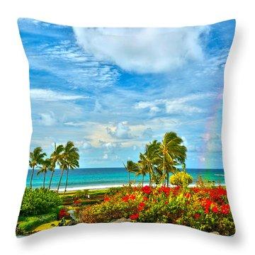 Kauai Bliss Throw Pillow
