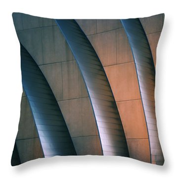 Kauffman Performing Arts Center Throw Pillow