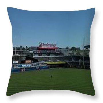 Kauffman Stadium  Throw Pillow
