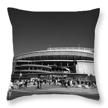 Kauffman Stadium - Kansas City Royals 2 Throw Pillow by Frank Romeo