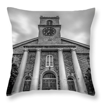 Throw Pillow featuring the photograph Kawaiaho Church  by Robert  Aycock