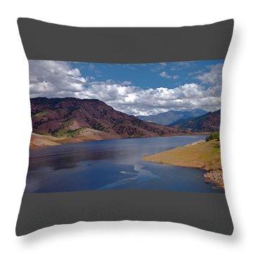 Kaweah Lake Throw Pillow