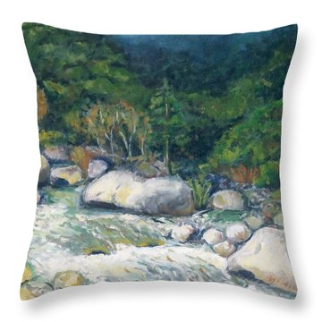 Kaweah River Throw Pillow