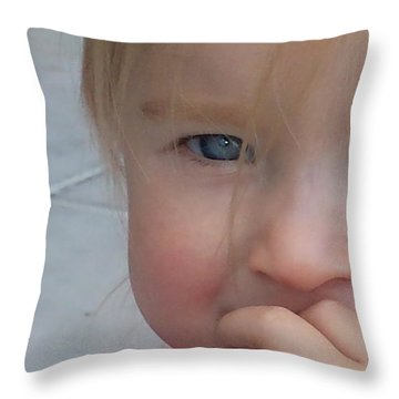 Kaylee Timid Throw Pillow