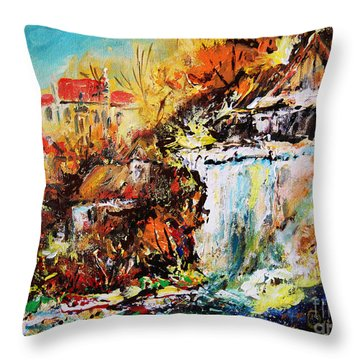 Kazimierz Nad Wisla  Throw Pillow