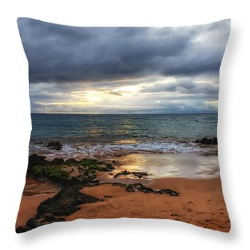Keawakapu Sunset Throw Pillow