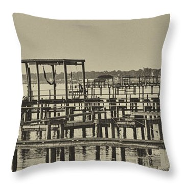 Keemah Piers Throw Pillow