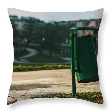 Keep Clean Throw Pillow