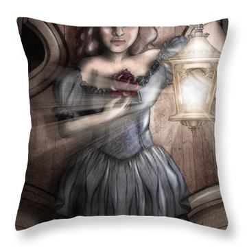 Keeper Of The Light Throw Pillow