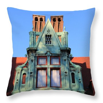 Keeper Of The Past Throw Pillow