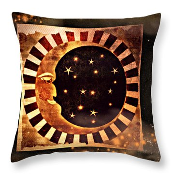 Keeper Of The Stars Throw Pillow