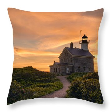Keeper On The Hill Throw Pillow