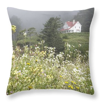 Keepers House Throw Pillow