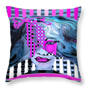 Keeping It Real Throw Pillow by Sladjana Lazarevic