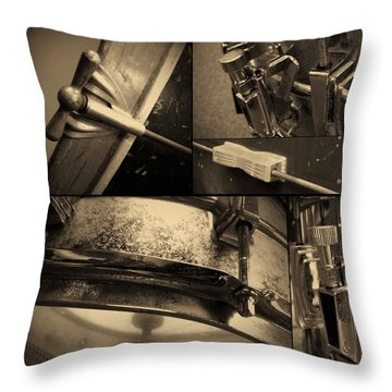 Keeping Time Throw Pillow