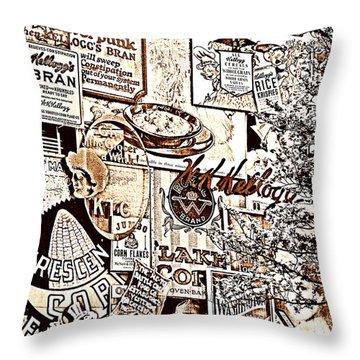 Kellogg's Wall Throw Pillow
